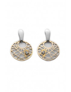 18 K Gold Earrings 1169/90-L