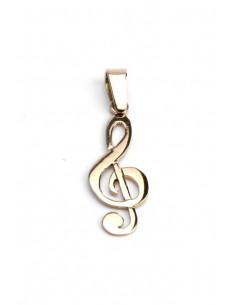 Colgante Oro 18 K Nota Musical 12426