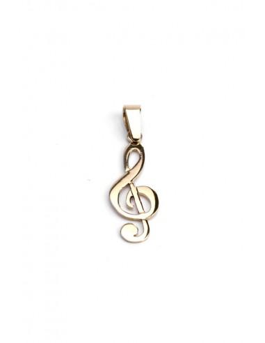 Colgante Oro 18 K Nota Musical 12427