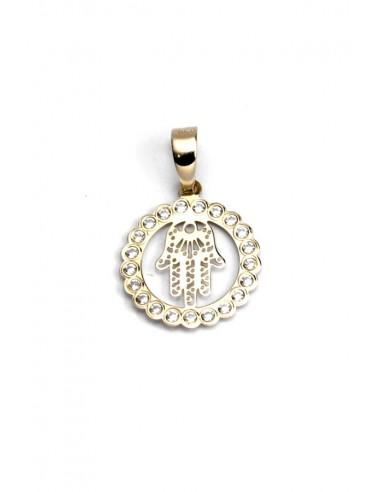 Colgante Oro 18 K Mano de Fátima 652-9115