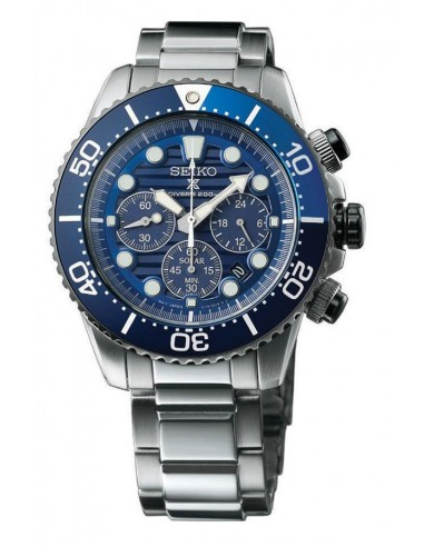 """Reloj Seiko Prospex Solar Diver´s """"Save The Ocean"""" SSC675P1"""