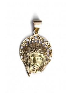 Colgante Oro 18 K Cristo OC1427