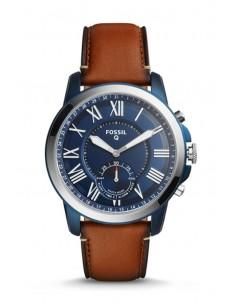 Reloj Fossil Smartwatch Hibrido - Q Grant Lugage FTW1147