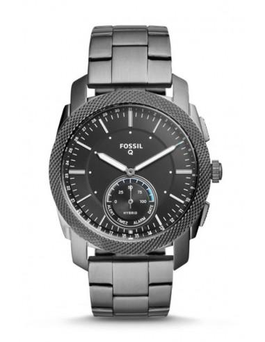 Reloj Fossil Smartwatch Hibrido - Q Machine Smoke FTW1166
