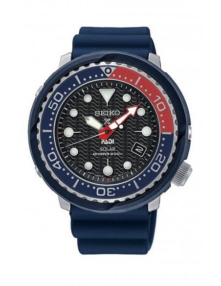Seiko Prospex Diver´s 200 m Padi Solar Watch SNE499P1