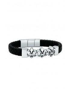 Police Bracelet S14AJL02B Mens Twin Row