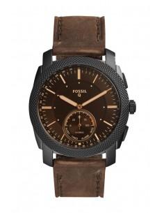 Reloj Fossil Smartwatch Hibrido - Q Machine Dark Brown FTW1163
