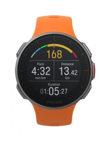 Polar Vantage V Orange Watch