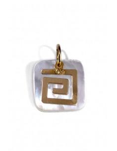 Colgante Oro 18 K Greco AM2243