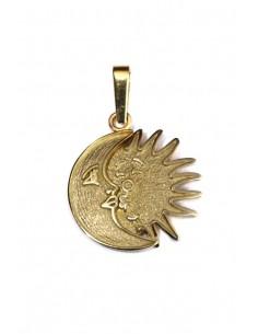 Colgante Oro 18 K Amor Sol y Luna 012A30