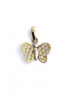 Colgante Oro 18 k Mariposa
