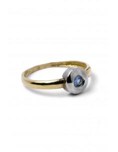 18 K Gold Ring Mountain Marine A112622