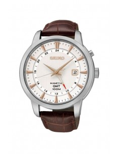 Seiko SUN035P1 Kinetic GMT Watch