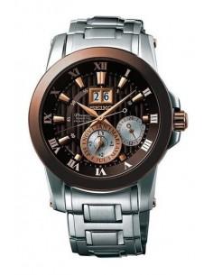 Seiko SNP128P1 Kinetic Premier Novak Djokovic Watch