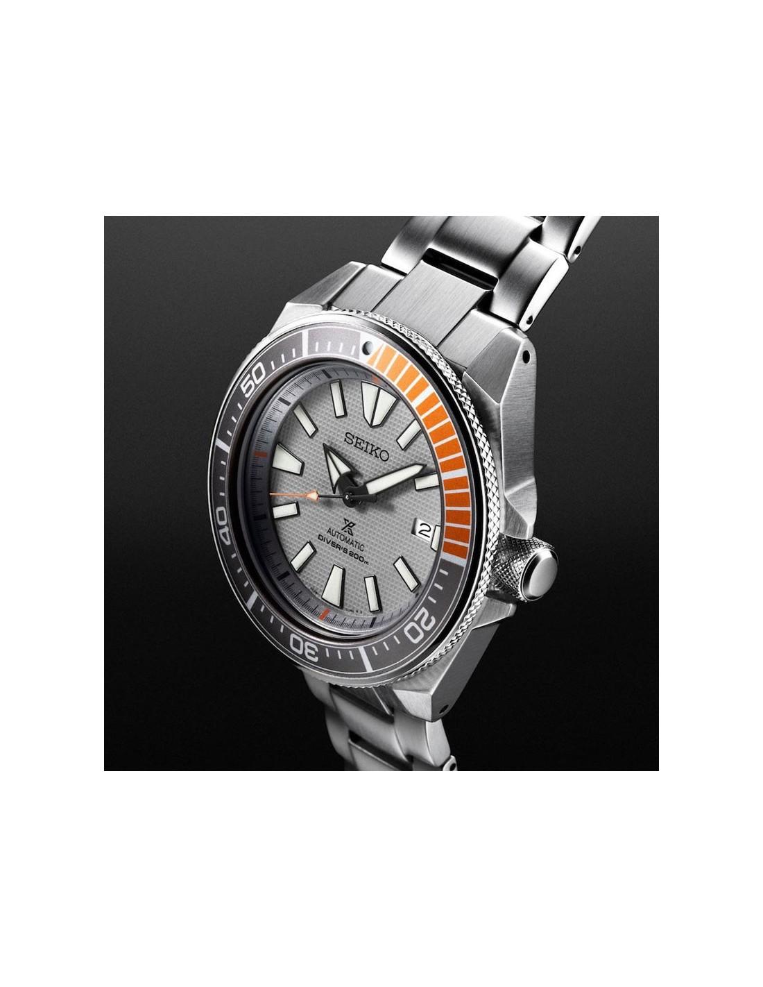 1edec45c20c ... Relógio SRPD01K1 Seiko Automatic Prospex Diver Samurai Dawn Grey ...
