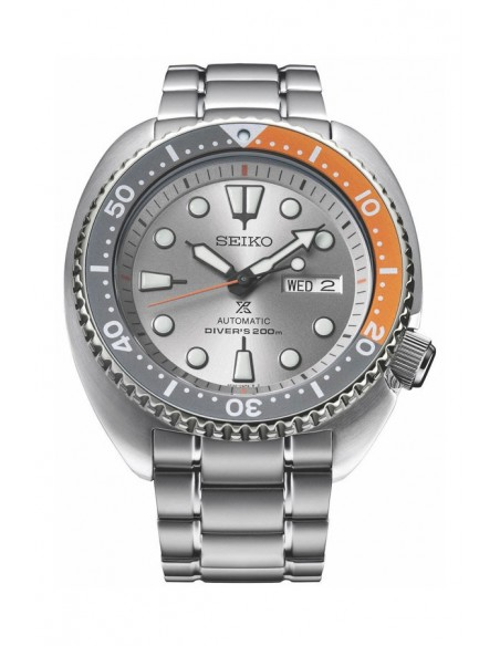 Seiko SRPD01K1 Automatic Prospex Diver Turtle Dawn Grey Watch
