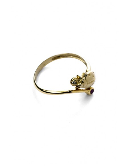Ring Gold 18 K Lady Bug A292917