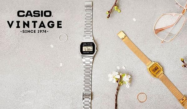 Casio Retro and Vintage Watches