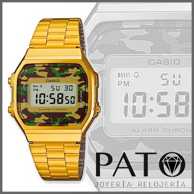 Casio Watch A168WEGC-3EF