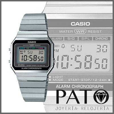 Vintage 1aefReloj Casio Clásico 1aefReloj A700we Clásico Casio A700we nwOX0Pk8