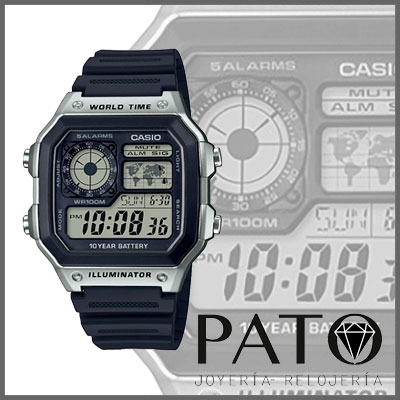Casio Watch AE-1200WH-1CVEF