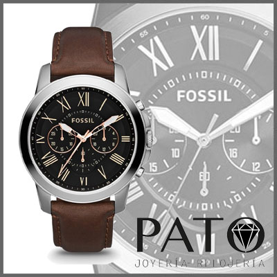 Increíble Reloj Fossil Grant - FS4813 a0ec18e4f2ff
