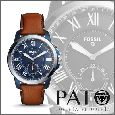 Grant Lugage Ftw1147 Q Hybride Fossil Montre Smartwatch uOiPXTkZ