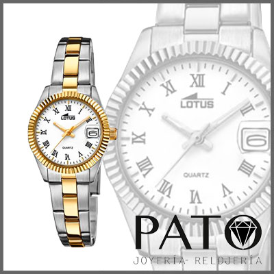 reloj mujer lotus l9749 1 plata