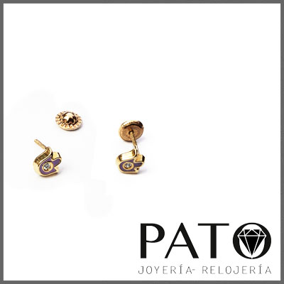Earrings Gold 18k 16011T