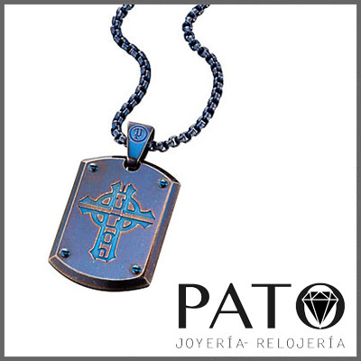 Police Necklace PJ25607PSEBL