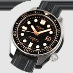 El reloj Diver´s 300m, con el calibre automático de alta precisicón de 10 alternancias por segundo