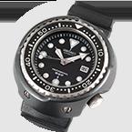 El primer reloj de buceo del mundo con la caja de titanio, reloj Professional Diver´s 600m