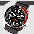 El reloj Quartz Diver´s 200m, el cual se convirtió en un éxito de ventas en todo el mundo