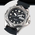 El primer reloj del mundo Kinetic Diver´s 200m
