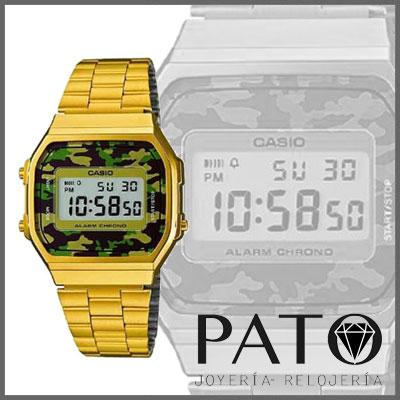 Reloj Casio A168WEGC-3EF