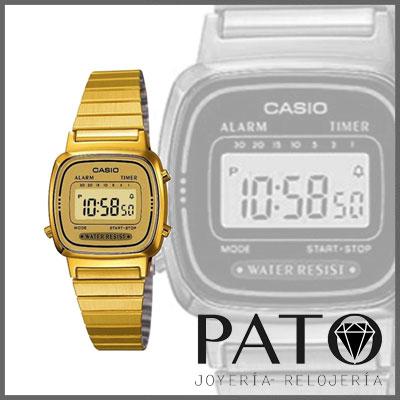 Reloj Casio LA670WEGA-9EF