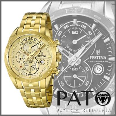 7ea7178ae717 reloj hombre dorado festina